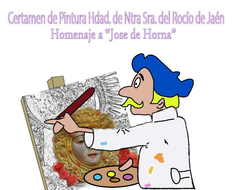 Convocatoria al VIII certamen de Pintura  Hdad.  de Jaén