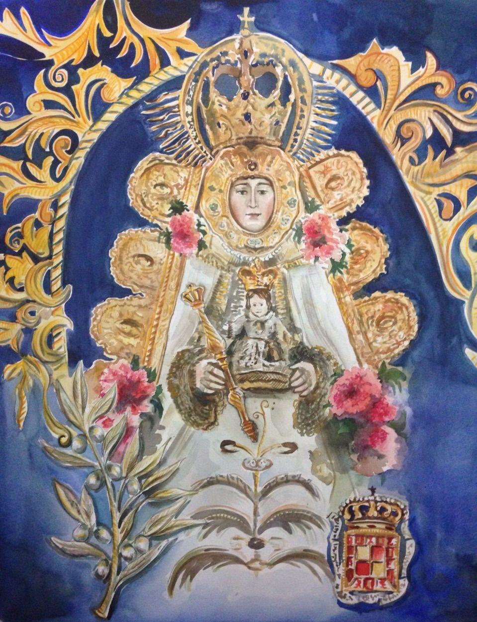 Primer premio VII certamen de pintura Hdad del Rocio de Jaén