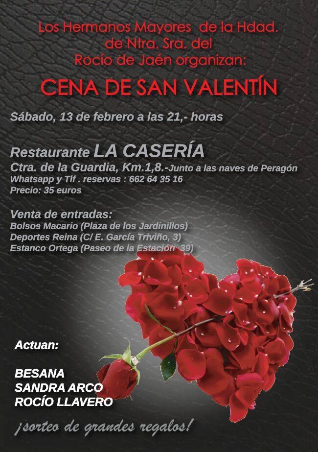 Cena de San Valentín de la Hdad. del Rocío de Jaén