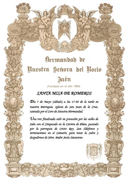 Santa Misa de Romeros